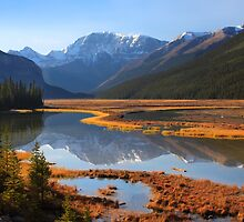 Sunwapta River, The Icefields Parkway, Alberta, Canada. by photosecosse /barbara jones