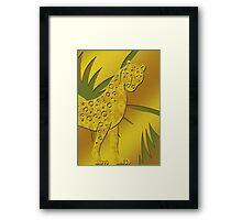 Gepard - Cheetah Framed Print
