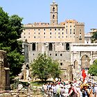 View of Roman Forum, Rome, Italy by hojphotography