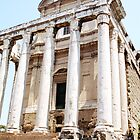 The Temple of Antoninus and Faustina, Rome, Italy by hojphotography