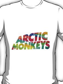 Colorful Arctic Monkeys logo T-Shirt