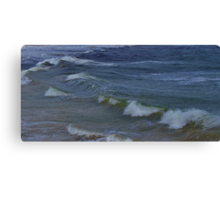 Incoming Waves on Bather's Beach Canvas Print