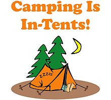 Camping In Tents by AmazingMart