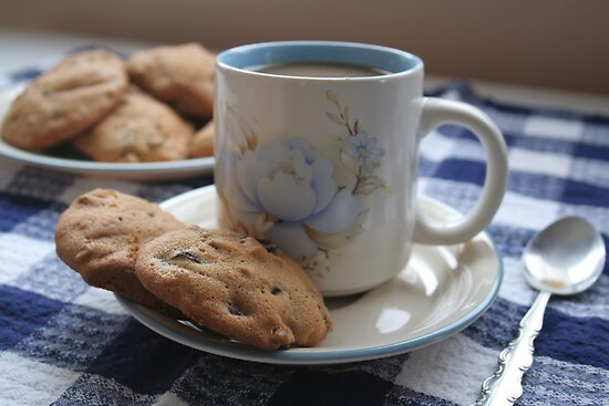 Grandma's Coffee Cookies (still life) by Stephen Thomas