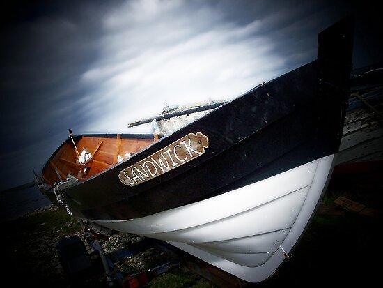sandwick yoal by NordicBlackbird