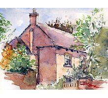 Old Rectory, Edgmond, Shropshire Photographic Print