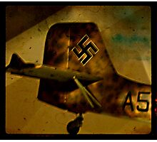 Captured Ju 87 Stuka Photographic Print