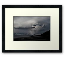 Thunder Being Framed Print
