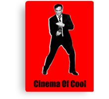 Cinema Of Cool - Tarantino Canvas Print