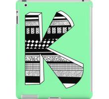 "The Letter ""k""  iPad Case/Skin"