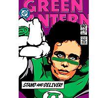 Post-Punk Super Friends - Green Photographic Print
