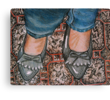 New Shoes Canvas Print