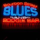 Bourbon Street Blues and Boogie Bar by Debbi Tannock