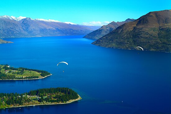 Lake Wakatipu by Greg Coggiola