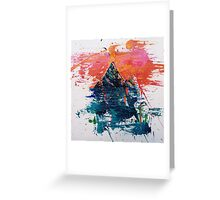 Mountain Moons Greeting Card