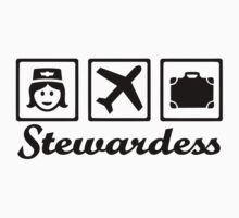 Stewardess airplane by Designzz