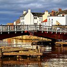 The Swing Bridge, Whitby by Christine Smith