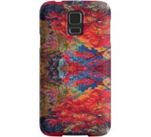 psychedelic trees Samsung Galaxy Case/Skin