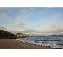 Bute coast, Scotland Photographic Print