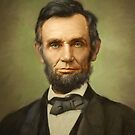 Potrait of Lincoln by Eric Melander