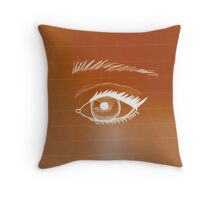 Eye Don't See Anything Throw Pillow
