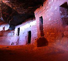 Moonhouse Ruin - Utah by Rick Schafer