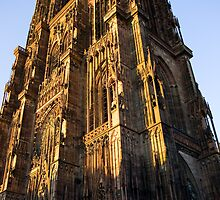 Cathedral of Strasbourg by AmyRalston