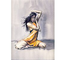 Sitting Dance Photographic Print