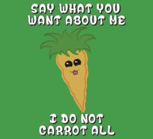 I do not carrot all by SpiderSteph