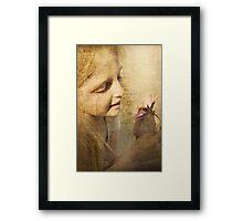 For The Love Of Flowers Framed Print