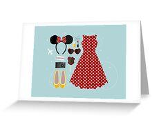 Disney Flatlay Greeting Card
