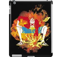 Going Second on Fire iPad Case/Skin