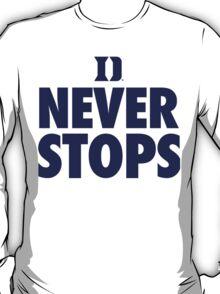 Duke Never Stops shirt, hoodie and more T-Shirt
