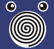 Poliwhirl Face by alienaviary