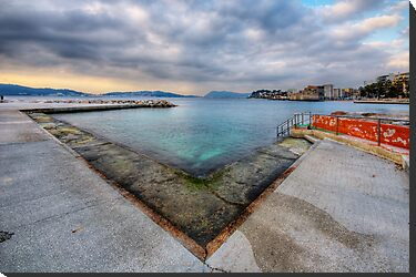 Clouds over Toulon by Patrick Morand