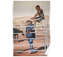 Sunshine, Family and Horses Poster