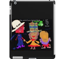 but.. they loved to dance iPad Case/Skin