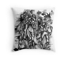 The Broken Girl Throw Pillow