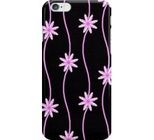 Pink Daisy Chain Floral Pattern iPhone Case/Skin