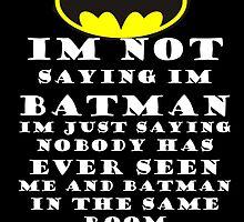 Batman by CluckyAndCo