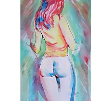 Redhead #2 - Abstract Photographic Print