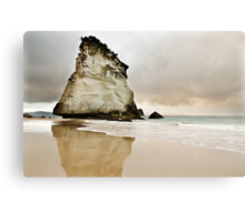 Cathedral Cove's Giant Rock Canvas Print