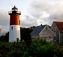 Nauset Lighthouse (Eastham, Cape Cod) by Christopher Seufert