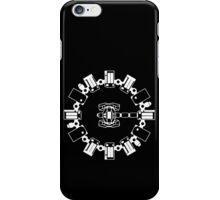 Endurance Lineart (white) iPhone Case/Skin