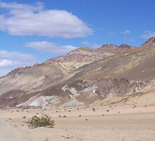 Death Valley, California Artist Drive Approach by annaburham