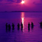 Sunset Fishing by khadhy