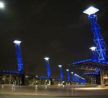 Sydney Olympic Park by linelight