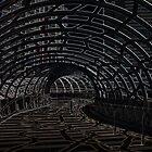 Docklands Neon Bridge by exmrblonde