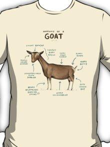 Anatomy of a Goat T-Shirt