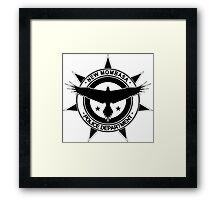 Halo, New Mombasa Police Department logo Framed Print